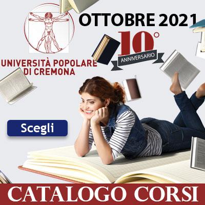 Catalogo corsi Università Popolare di Cremona